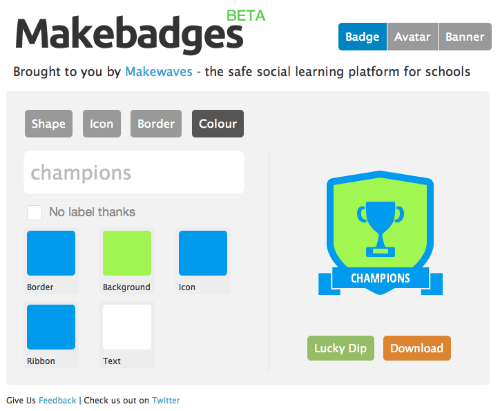 MakeBadges